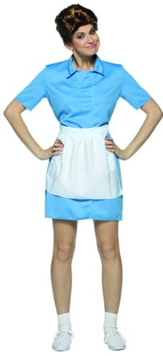 Brady Bunch Alice Costume – One Size – Dress Size 6-10
