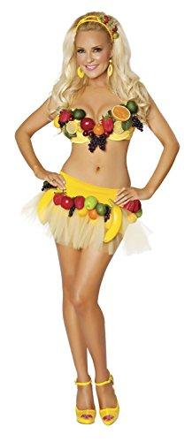 Bridget Fruit Carmen Miranda Costume Medium Size 6-8