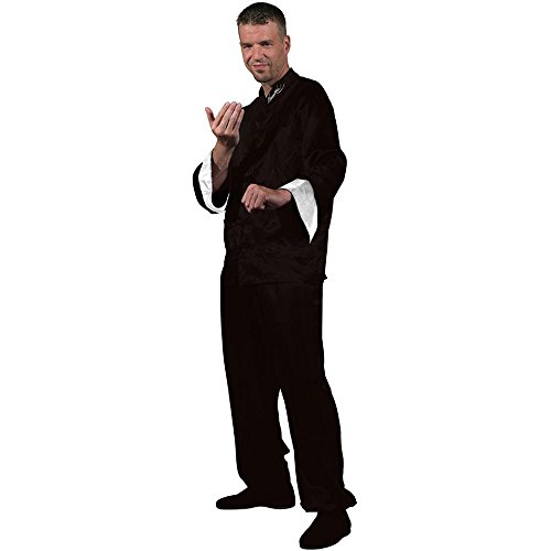 Bruce Lee Black Kung Fu Costume – Medium