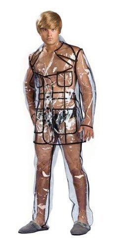 Bruno – Clear Vinyl Suit Adult Costume Size Large