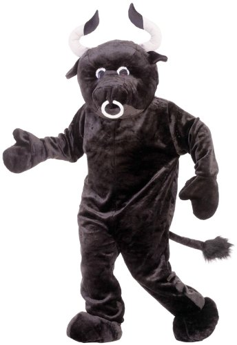 Bull Mascot Adult Costume Size One-size