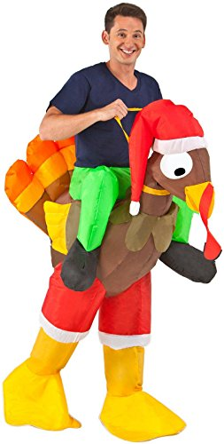 Buy Seasons – Inflatable Rider – Turkey Adult Costume – One-Size