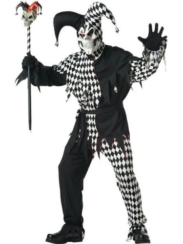 California Costume Collection – Evil Jester Adult – Large
