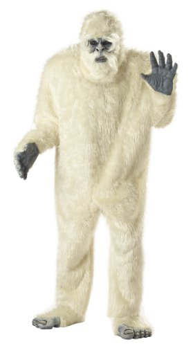 California Costumes Men's Abominable Snowman Costume,White,One Size