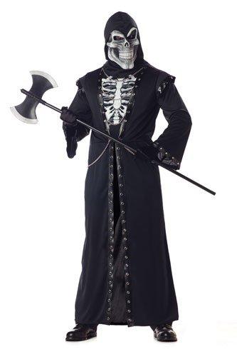 California Costumes Men's Crypt Master Costume,Black,Large