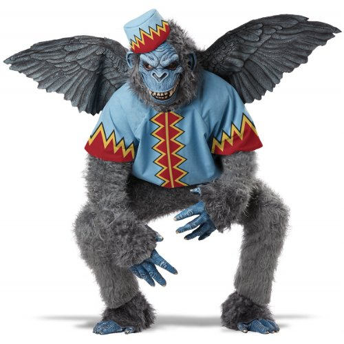 California Costumes Men's Evil Winged Monkey Adult, Grey/Blue, Medium