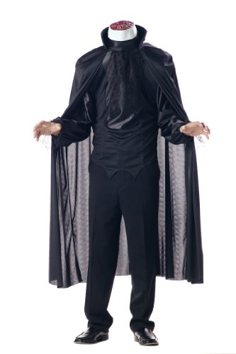 California Costumes Men's Headless Horseman Costume,Black,X-Large