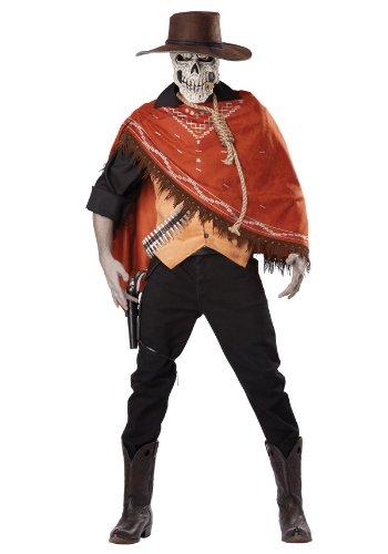 California Costumes Men's Outlaw's Revenge Adult, Brown, Medium
