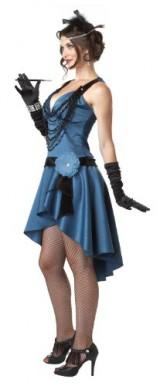 California-Costumes-Putting-On-The-Ritz-BlueBlack-Small-Costume-0-1
