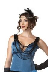 California-Costumes-Putting-On-The-Ritz-BlueBlack-Small-Costume-0-3