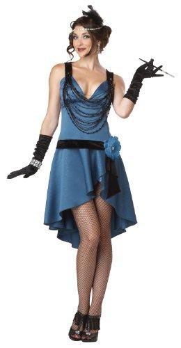 California-Costumes-Putting-On-The-Ritz-BlueBlack-Small-Costume-0