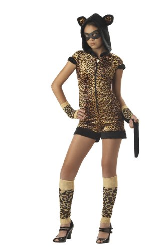 California Costumes The Cat's Meow Costume,Brown/Black,X-Large