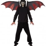 California-Costumes-Vampire-Mask-And-Wings-BlackRed-One-Size-0-0