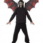 California-Costumes-Vampire-Mask-And-Wings-BlackRed-One-Size-0-2