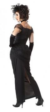 California-Costumes-Victorian-Vampiress-BlackSilver-Large-Costume-0-0
