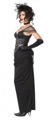 California-Costumes-Victorian-Vampiress-BlackSilver-Large-Costume-0-1