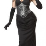 California-Costumes-Victorian-Vampiress-BlackSilver-Large-Costume-0-2