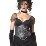 California-Costumes-Victorian-Vampiress-BlackSilver-Large-Costume-0-3