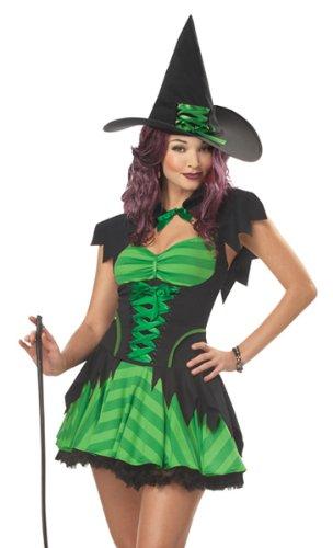 California Costumes Women's Hocus Pocus Costume, Black/Green,Medium