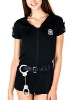 Caramel-Cantina-Sexy-Cop-Halloween-Costume-with-Handcuffs-Matching-Cap-and-Belt-Medium-Black-0