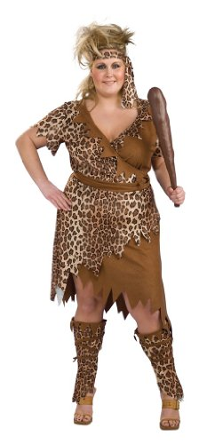 Cavewoman Plus Size Costume Plus