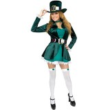 Charades-Costumes-Womens-Sexy-Leprechaun-With-Hat-Adult-Costume-3X-Green-0