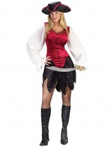 Classic-Pirate-Lady-Sexy-Womens-2-Piece-Costume-Sizes-Small-Medium-0