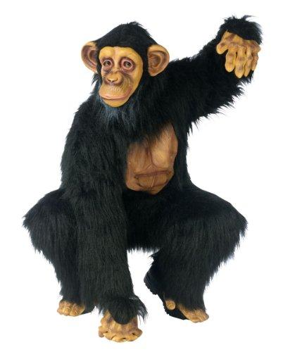 Complete Chimpanzee Costume – Standard – Chest Size 33-45
