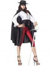 Costume-Adventure-Womens-Deluxe-Sexy-Zorro-Costume-ML-0
