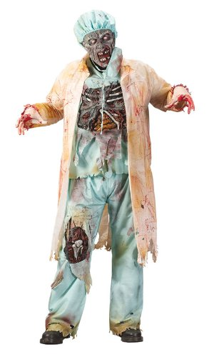 Costumes For All Occasions FW5775 Zombie Doctor Plus Size