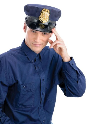 Costumes For All Occasions FW93043 Police Hat
