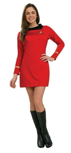 Costumes For All Occasions Ru889061Sm Star Trek Classic Red Dress Sm