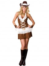 Cowgirl-Costume-Dress-Sexy-South-Western-Style-Country-Girl-Womens-Theatrical-Sizes-Small-0