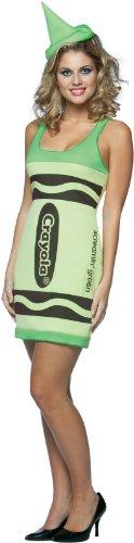 Crayola Tank Dress Costume – Small/Medium – Dress Size 4-10