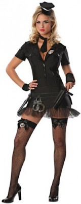 Delicious-Womens-Book-Em-Sexy-Costume-Black-MediumLarge-0