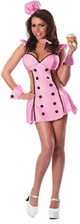 Delicious-Womens-Confection-Perfection-Sexy-Costume-Pink-MediumLarge-0