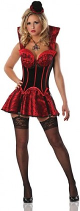 Delicious-Womens-First-Bite-Sexy-Costume-BlackRed-MediumLarge-0