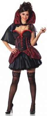 Delicious-Womens-Haunted-Mistress-Sexy-Costume-BlackRed-MediumLarge-0