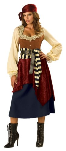 Deluxe Buccaneer Beauty Pirate Costume – Womens X-Large