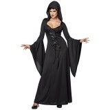 Deluxe-Hooded-Robe-Adult-Costume-Black-X-Large-0