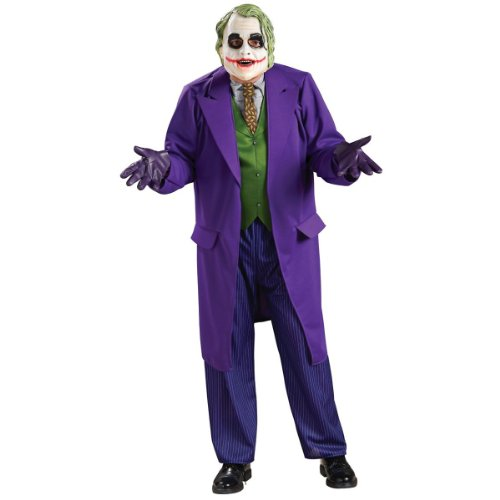 Deluxe Joker Costume – X-Large – Chest Size 44-46