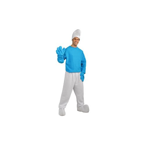 Deluxe Smurf Costume – X-Large – Chest Size 44-46