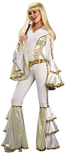 Disco Queen Adult Costume (One Size up to Size 12)