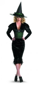 Disguise-In-The-Shadows-Bygone-Witch-Costume-BlackGreen-XX-Large22-24-0