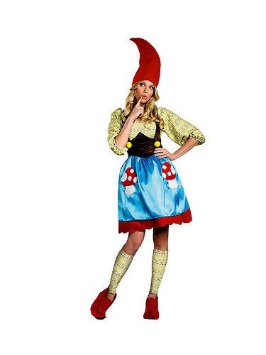 Disguise Inc Women's Mrs Gnome Plus Size Costume Multicoloured XX-Large