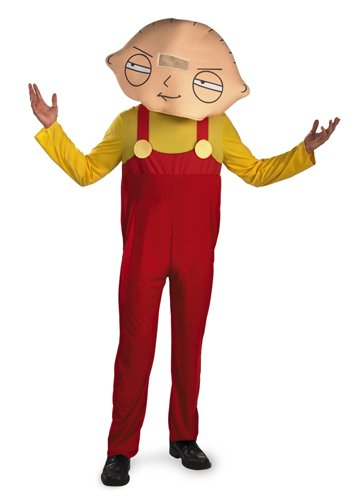 Disguise Men's Family Guy Stewie Costume, Yellow/Red, Medium