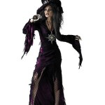 Disguise-Unisex-Adult-Sorceress-Purple-Large-12-14-Costume-0