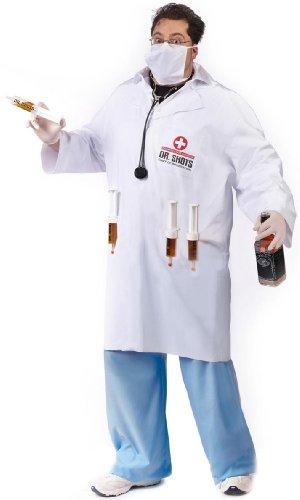Dr. Shots Costume – Plus Size – Chest Size 48-53