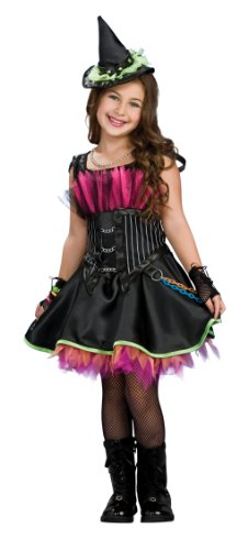 Drama Queens Rockin' Out Witch Costume,Small (US Size 4 to 6)