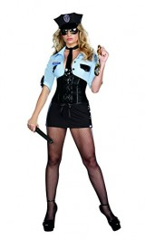 Dreamgirl-Officer-B-Naughty-Costume-Black-Small-0